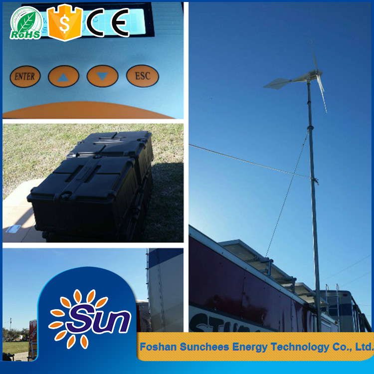 wind and solar power system solar systems 10kw 100kw for home
