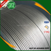Export super quality deoxidizer calcium silicon alloy cored wire