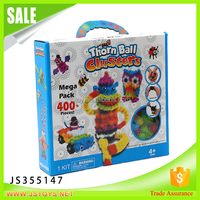 Manufactory toy thorn ball clusters mega pack toy game maomao plastic ball made in china