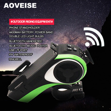 AOVEISE AV127B bicycle LED light bulb.Merry Christmas riding gift.outdoor equipment light.electric bicycle accessory with frame.