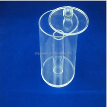 Bulk food bins display transparent clear acrylic plastic tube for candy