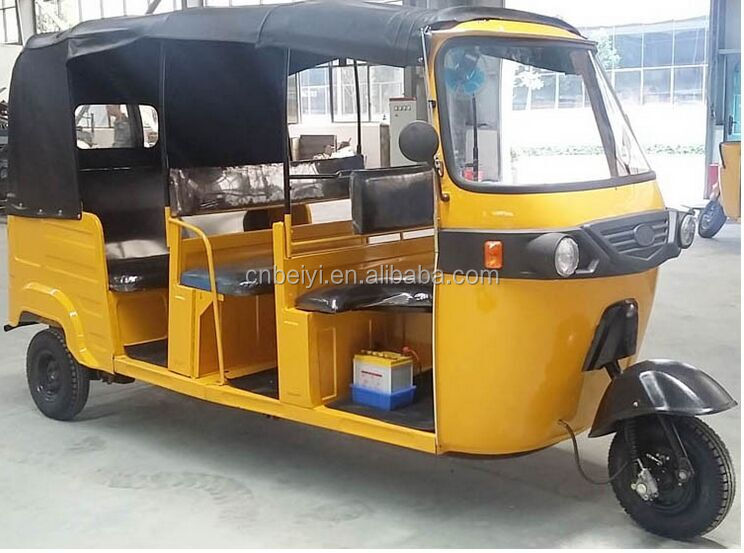 Dayang brand new adult rickshaw 4 passengers three wheeler passenger motorcycle for sale in South America