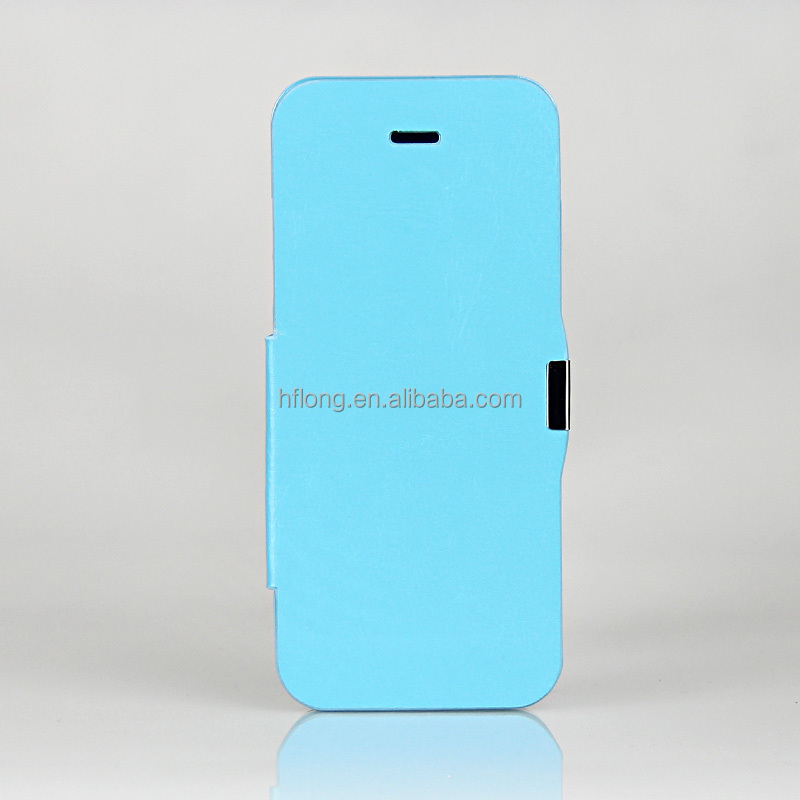 4200mAh Rechargeable Battery Backup Charger Power Bank Case Cover Leather Flip for iPhone 5 5S 5C