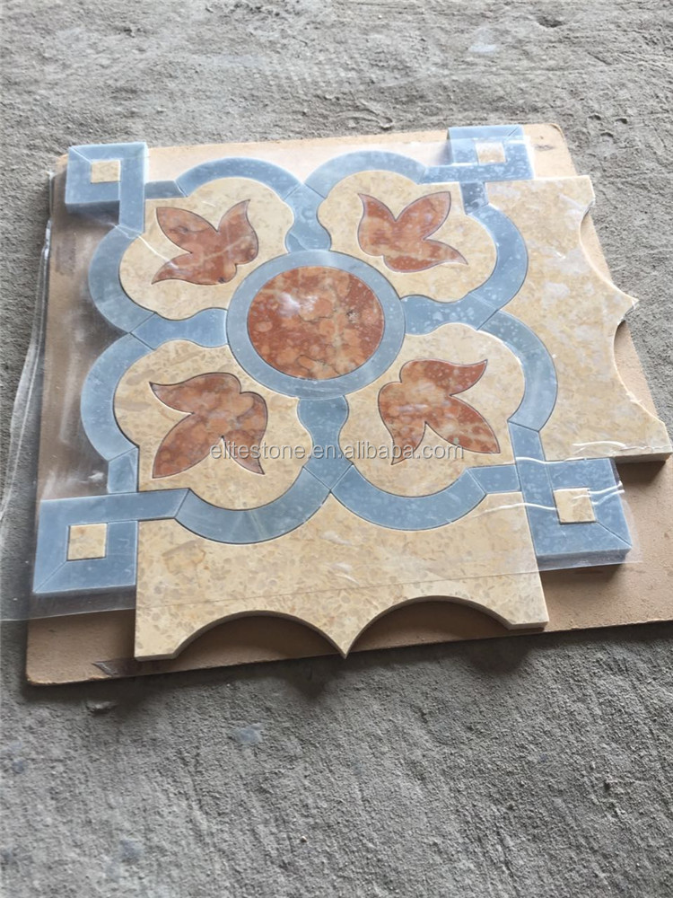 Beige Marble Mosaic / Yellow Marble Mosaic / Gold Marble Mosaic