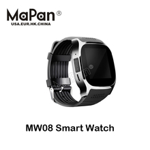 smart watch count steps cheap price with mobile phone calling camera 2017 work with Android OS