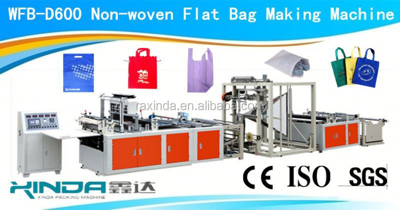 WFB-D600 handle bag making plant