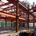 prefabricated metal material steel structure building steel structure building