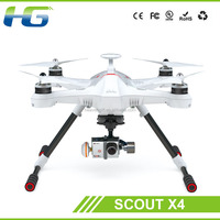 Walkera Scout X4 with DEVO F12E GPS FPV RC Quadcopter RTF 5.8GHz with Aluminum Case