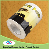 Wholesale China Factory Printed Toilet Paper Roll , Tissue Paper , Toilet Tissue