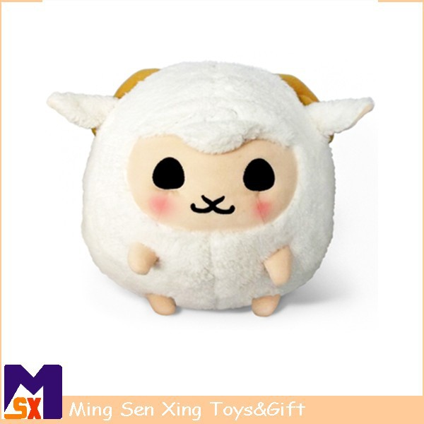 china wholesale custom lovely plush round sheep