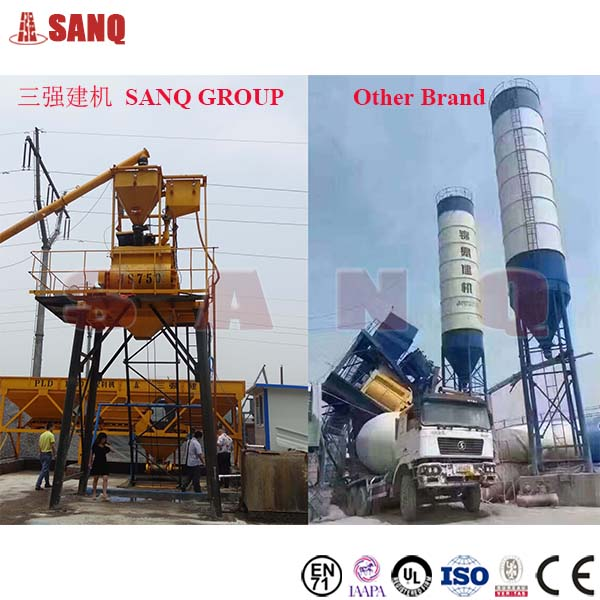 HZS180 180 m3/h Ready Mixed Precast Beton Concrete Batching Plant