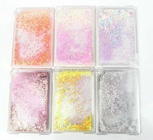 Glitter Quicksand Hard Case Cover For iPad mini 4, Liquid moving case for iPad mini 4