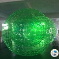Green inflatable zorb ball/human sized hamster ball/roll inside inflatable ball