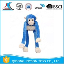 Hot Sale Unique Design Plush Blue Monkey Toy