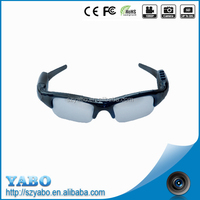 Remote control bluetooth mp3 sunglasses 1280*720P 30fps USB 2.0