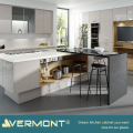 2018 Vermont New High Gloss Italian Kitchen Cabinet With Movable Sink On Island