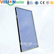 Anti-freezing blue flat plate solar water heater collector in China