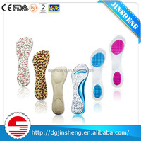 Heel insole design for high-heeled shoes