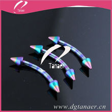zebras plated banana piercing jewelry
