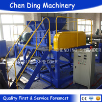 recycling automatic tyre shredder machine price