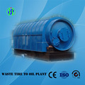 High quality waste plastic recycling to oil by pyrolysis machine