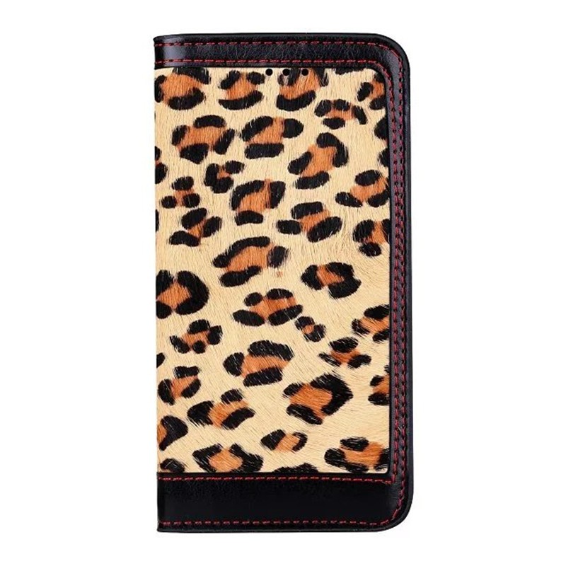 Fashionable Classic Leopard pattern Leather Cover Case for iPhone 7