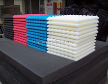 China made Egg crate High density fireproof Polyurethane Acoustic foam