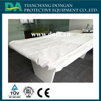 Disposable PP bed cover with elastic on 4 corners PP+PE SMS bed cover
