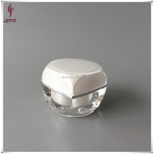 Fancy acrylic 5g plastic mini cosmetic jar