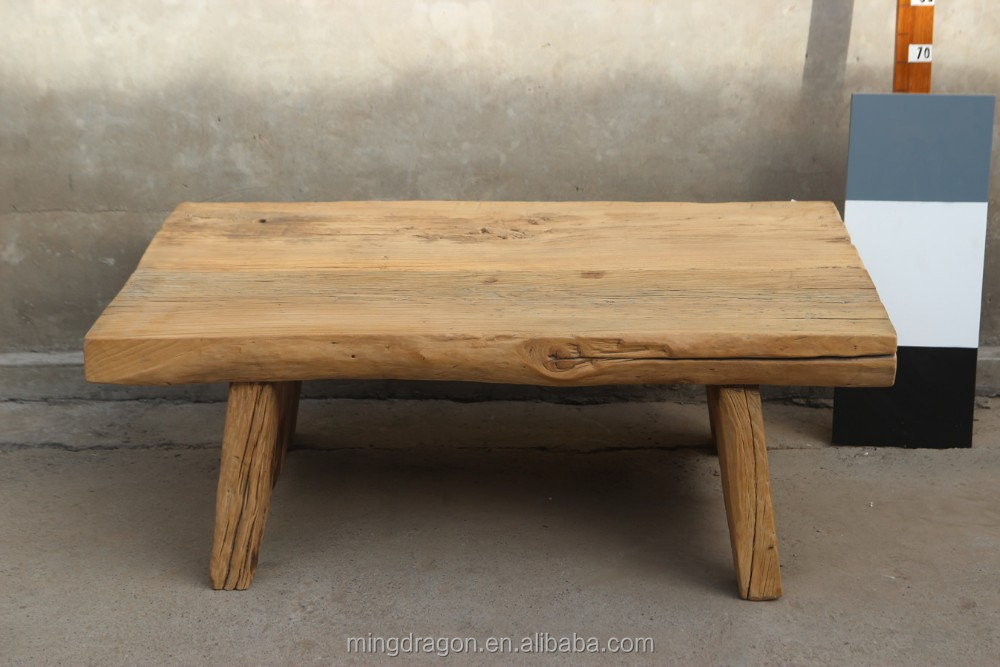 antique recycle wood coffee tables solid wood slab coffee tables