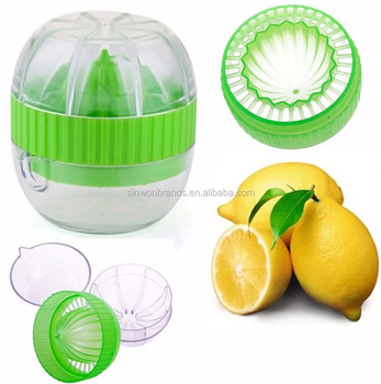 Citrus Fruit Juicer Kitchen Lime Orange Lemon Squeezer Fruit Press & Pourer