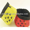 pet nylon foldable travel bowl