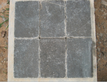 blue scraped stone tile flooring, cheap construction stone