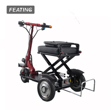 2017 new product 3 wheels electric kick scooter folding electric bike potable cycle motor cycle mobility