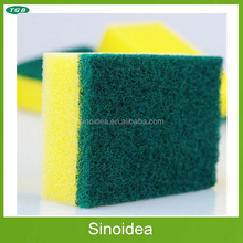 Hot sale cheap Scouring pad for kitchen, kitchen cleaning sponge