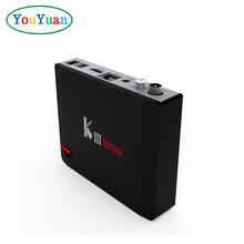 New item KIII PRO tv box DVB S2 T2 Android 7.1 tv box Amlogic S912 Octa-core 3GB DDR4 16GB EMMC BT4.0 2.4G/5G dual wifi k3 pro