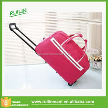 Trolley Travel Duffel Bag On Wheels