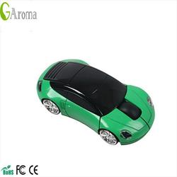 Factory price 2.4g car shape audio wireless mouse with nano usb 2.0 receiver wireless mouse
