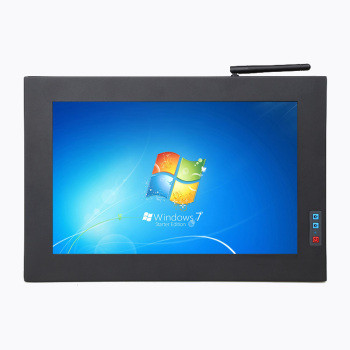 12.1 inch wide screen 1280x800 resolution embedded touch panel pc industrial aio computer DC12V wifi build in 4G bluetooth GPS
