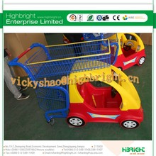 Highbright China factory direct sale kiddie shopping cart for children