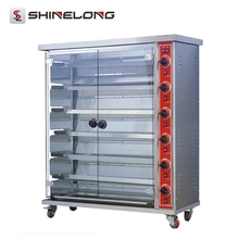Shinelong 6-Layer Gas Chicken Rotisserie For Sale
