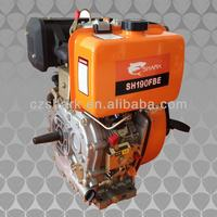 11HP Air Cooled Single Cylinder Diesel Engine