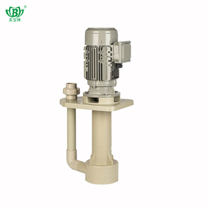 Corrosionresistant centrifugal pump exhaust gas spray circulating water vertical pump