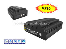 Recoda M720 Vehicle Mobile DVR 4 Channel 1080P Support on 3G,4G,WIFI,GPS,HYBRID