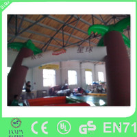Cheap inflatable advertisement welcome entrance inflatable arch