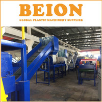 BEION PP PE film washing drying line for plastic recycling
