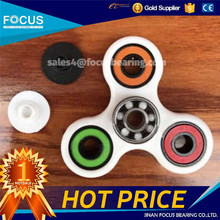 Full Ceramic Bearing 608 Plastic Fidget tri Spinner