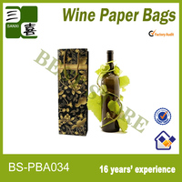 Personalized Christmas Wine Gift Bags