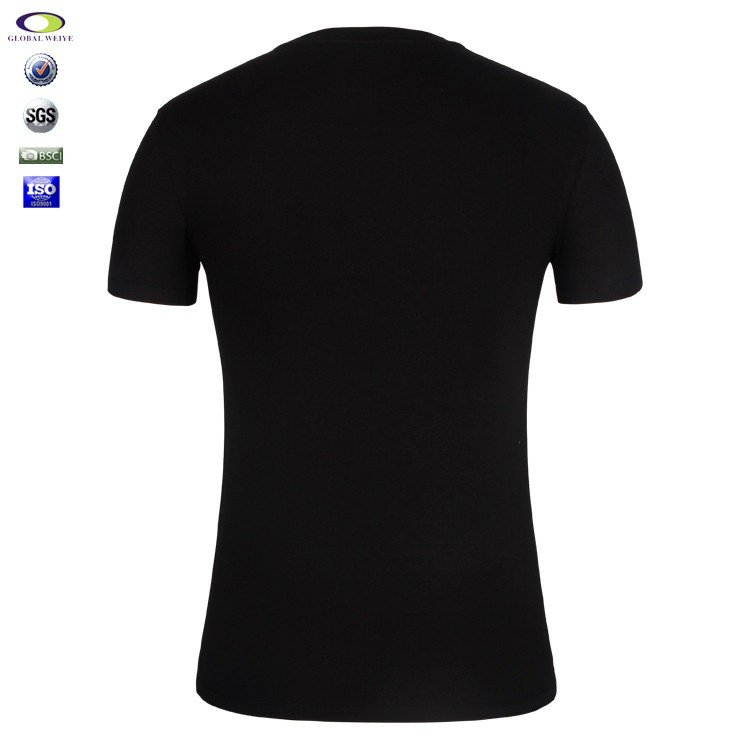 Custom printing t shirts 50 cotton 50 polyester for T shirt printing in bulk
