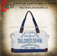 New 2013 High-capacity Canvas Hand Bag/ Fashionable travel sport bag/Cotton fabric canvas duffle bag